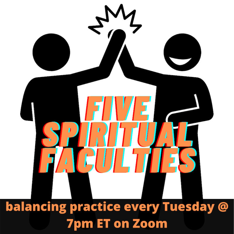 five spiritual faculties