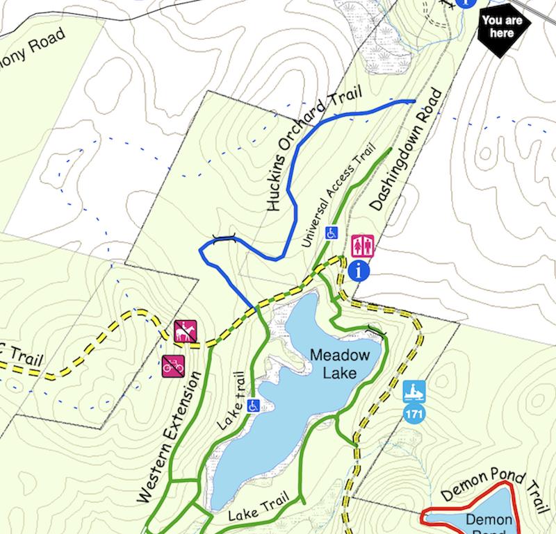 northwood trail map