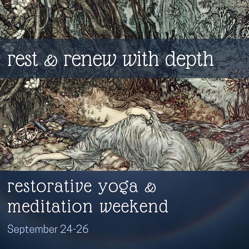 yoga and meditation weekend