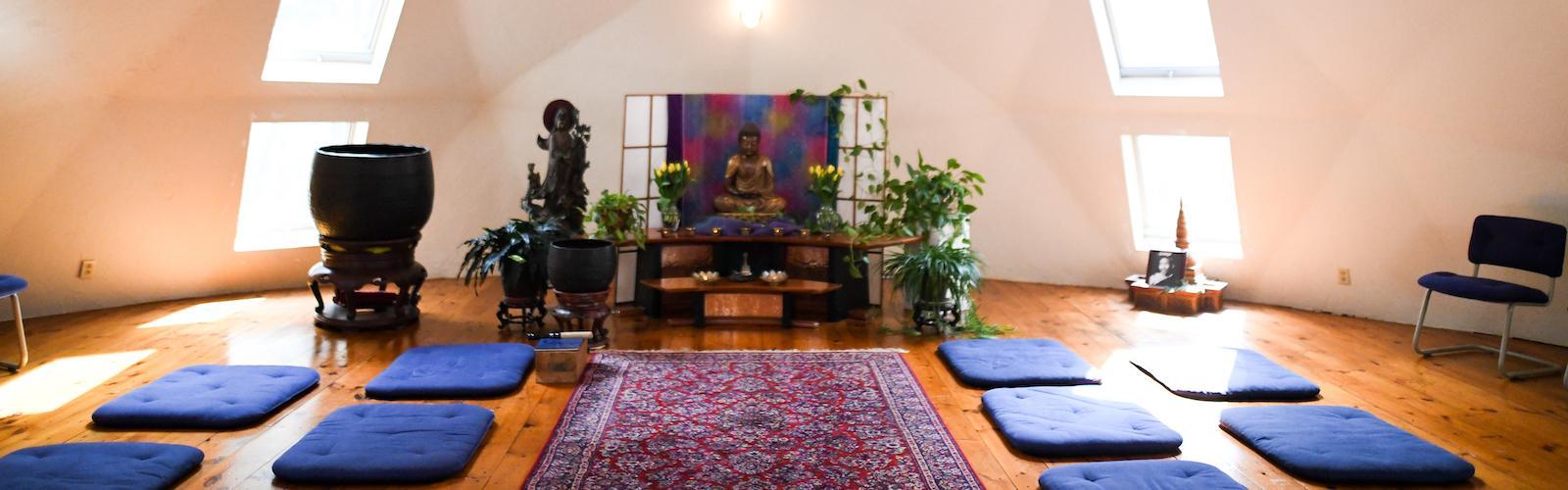 Aryaloka Shrine Room